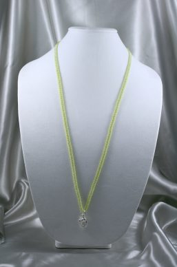 Lime Green & Jade Lanyard