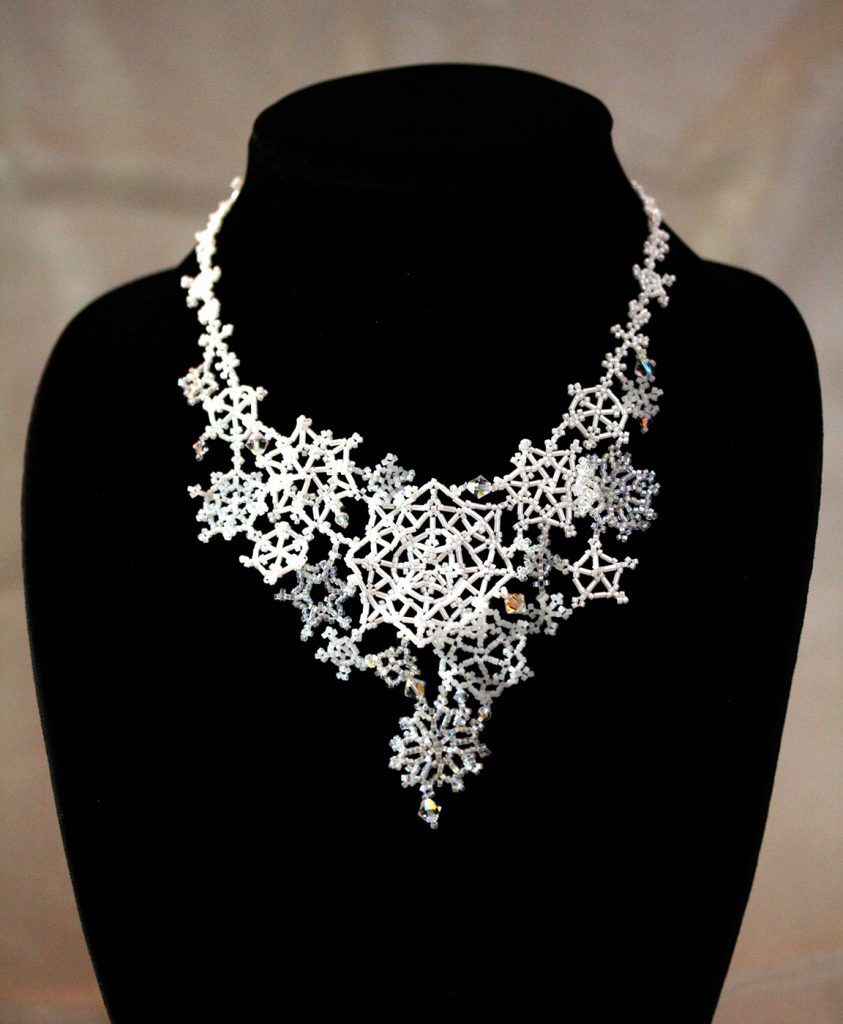 """Snowfall"" Necklace"