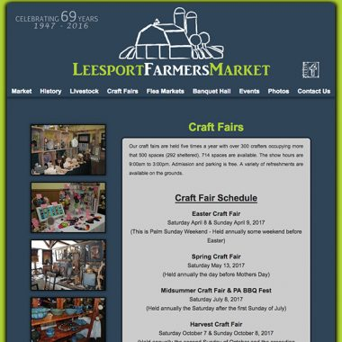 Leesport Easter Craft Market – April 8-9, 2017