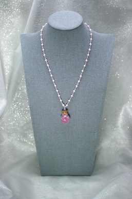 Pink Pixie-Dust Necklace