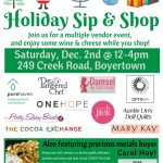 Holiday Sip & Shop with Friends