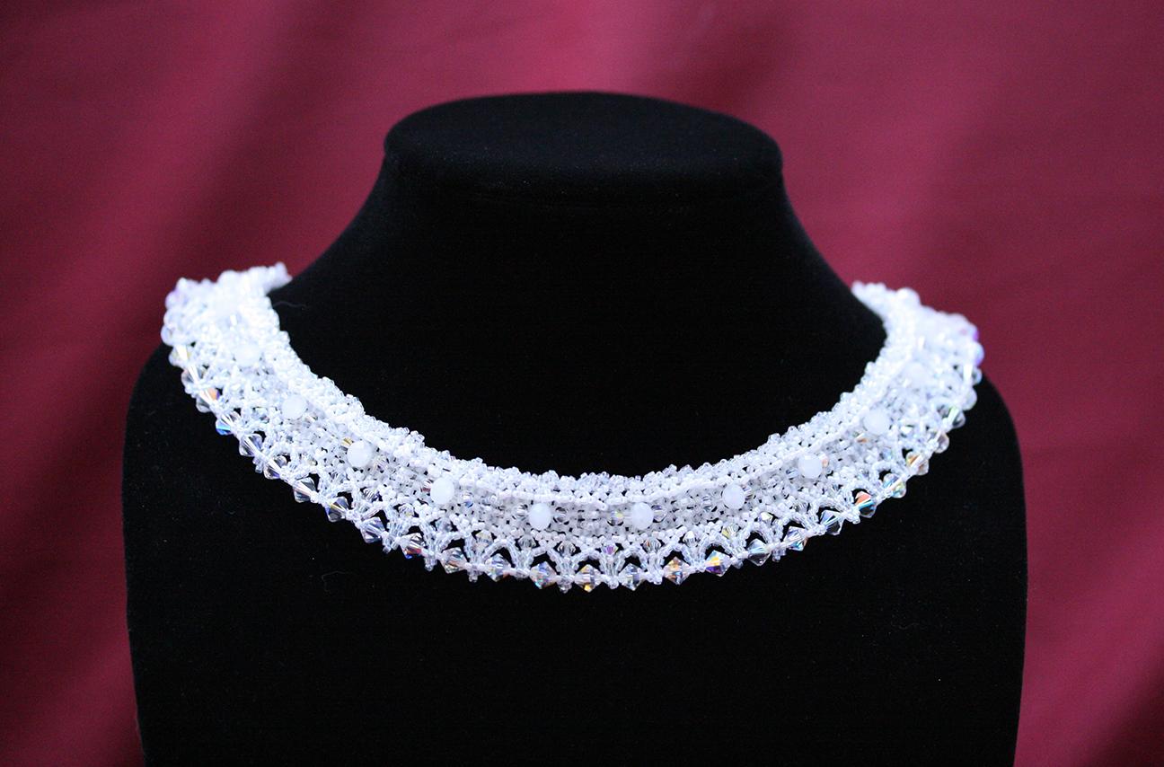 Elegant Bridal Collar Necklace