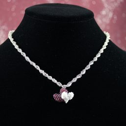Two Hearts Necklace 1