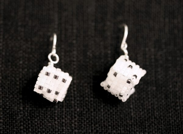 Dice Earrings