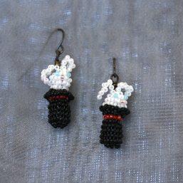 Magic Bunny Earrings 1