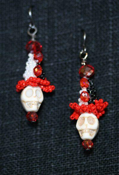 Scary Clown Earrings