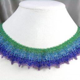 """Fair Isle"" Collar Necklace"