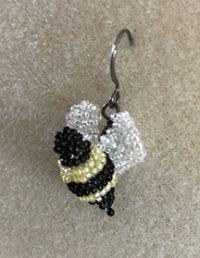 Bee Earring Pattern