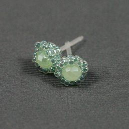 Sea Green Metal-less Stud Earring