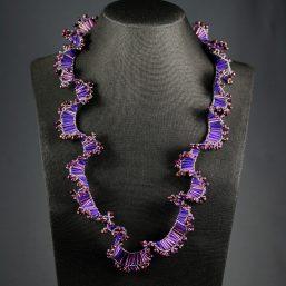 Royal Purple Ruffle