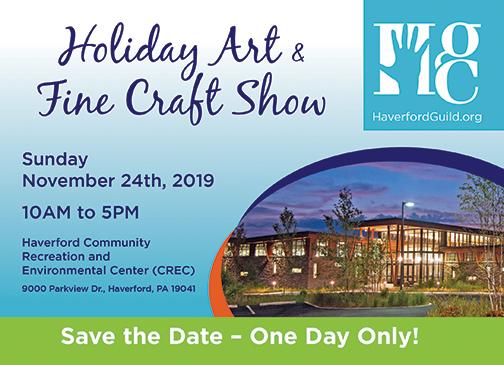 Holiday Art & Fine Craft Show – November 24, 2019