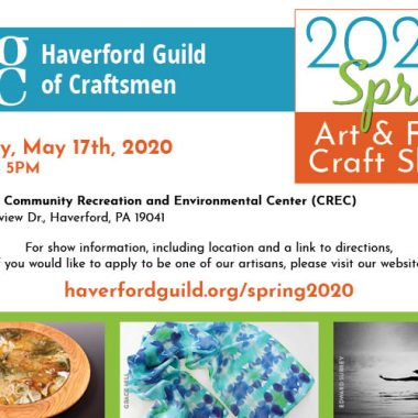 Spring Art & Fine Craft Show – May 17th, 2020